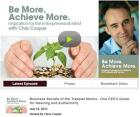 Turak's Business Secrets on Be More. Achieve More.